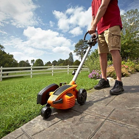Using WORX WG896 Lawn Edger
